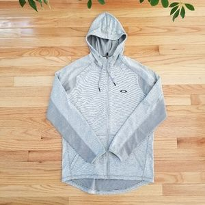 Oakley | Zip Up Sweater | Grey